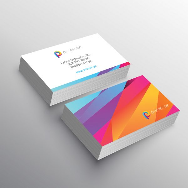 business card presentation mockup template